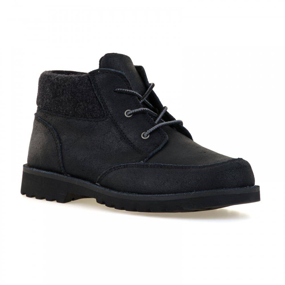 ugg juniors orin wool boots black boots shoes from