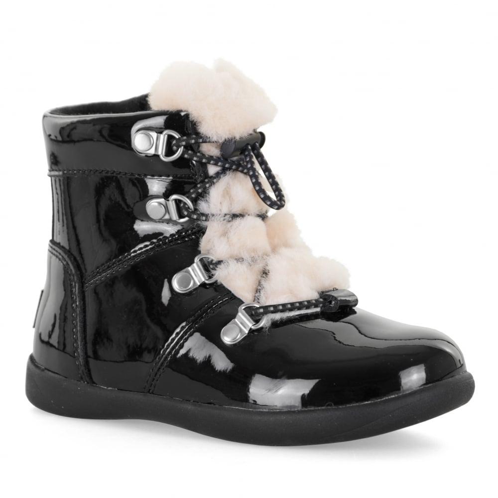black ugg boots junior