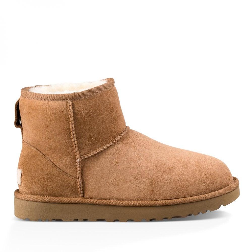 f4f6970b3dd Womens Classic Mini II Boots (Chestnut)