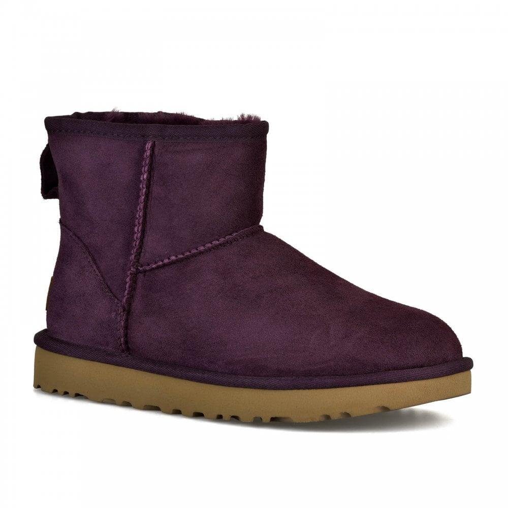 6c19cd74960c2 UGG Womens Classic Mini II Boots (Port) - Womens from Loofes UK