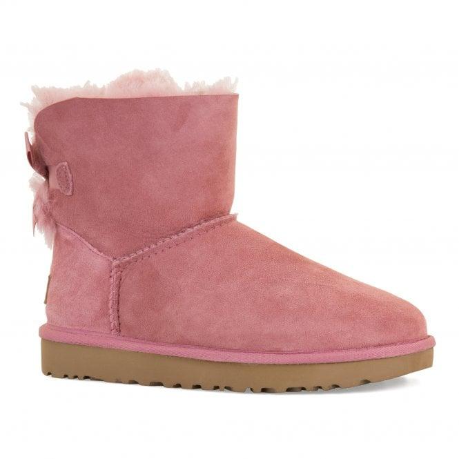 bd5a9b5d423 Womens Mini Bailey Bow II Boots (Pink)
