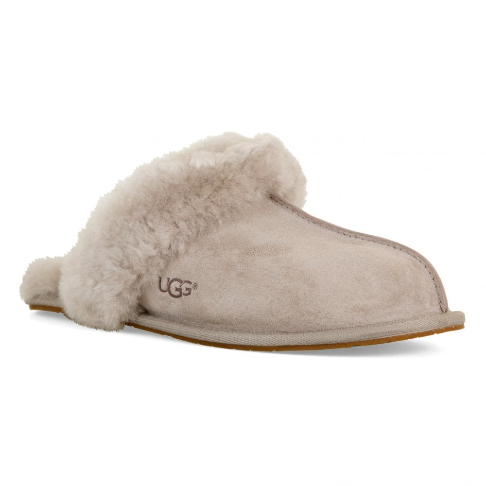 7c6529eeb79 UGG Womens Scuffette II Slippers (Light Grey) - Womens from Loofes UK
