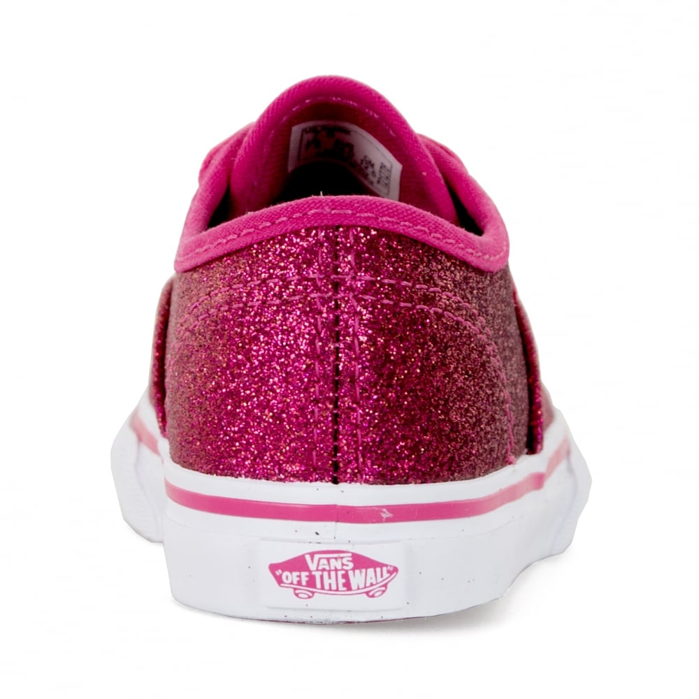 Vans Infants Authentic Glitter Trainers (Pink) - Kids from Loofes UK 0d4bc22e4
