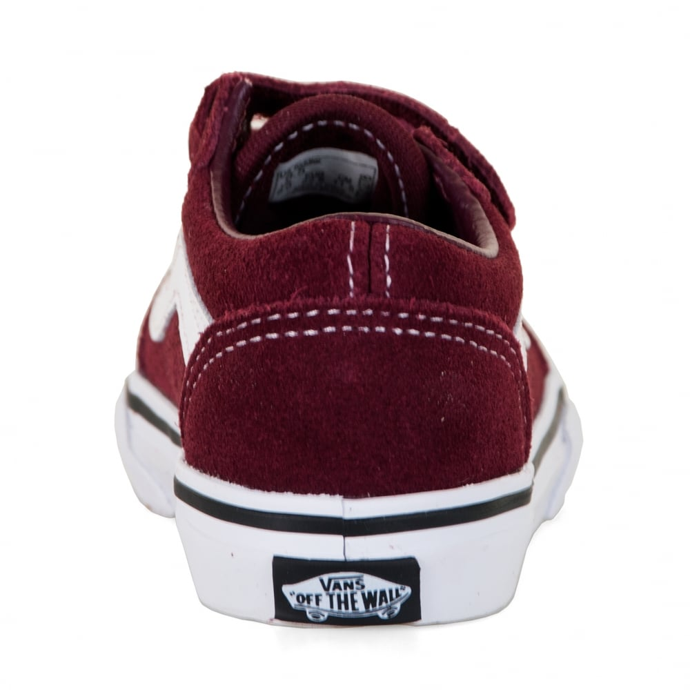 all maroon vans