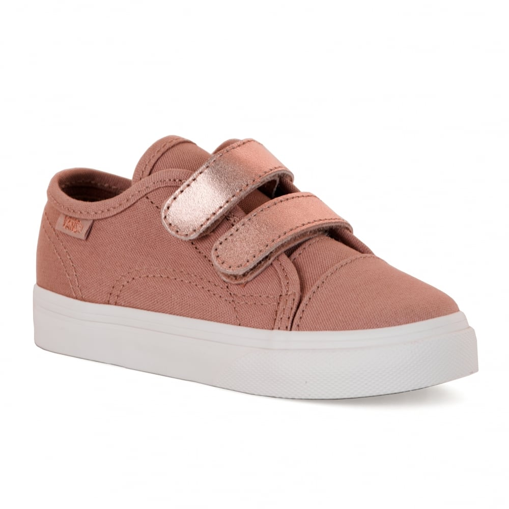 028be359d5 Vans Infants Style 23 Metallic 417 Trainers (Pink) - Kids from Loofes UK
