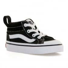 Vans Infants TD Racer Mid 117 Trainers (Black)