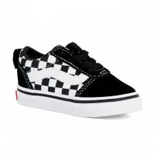 f877d7579f Vans Infants Ward Slip-On Checkered Trainers (Black White)