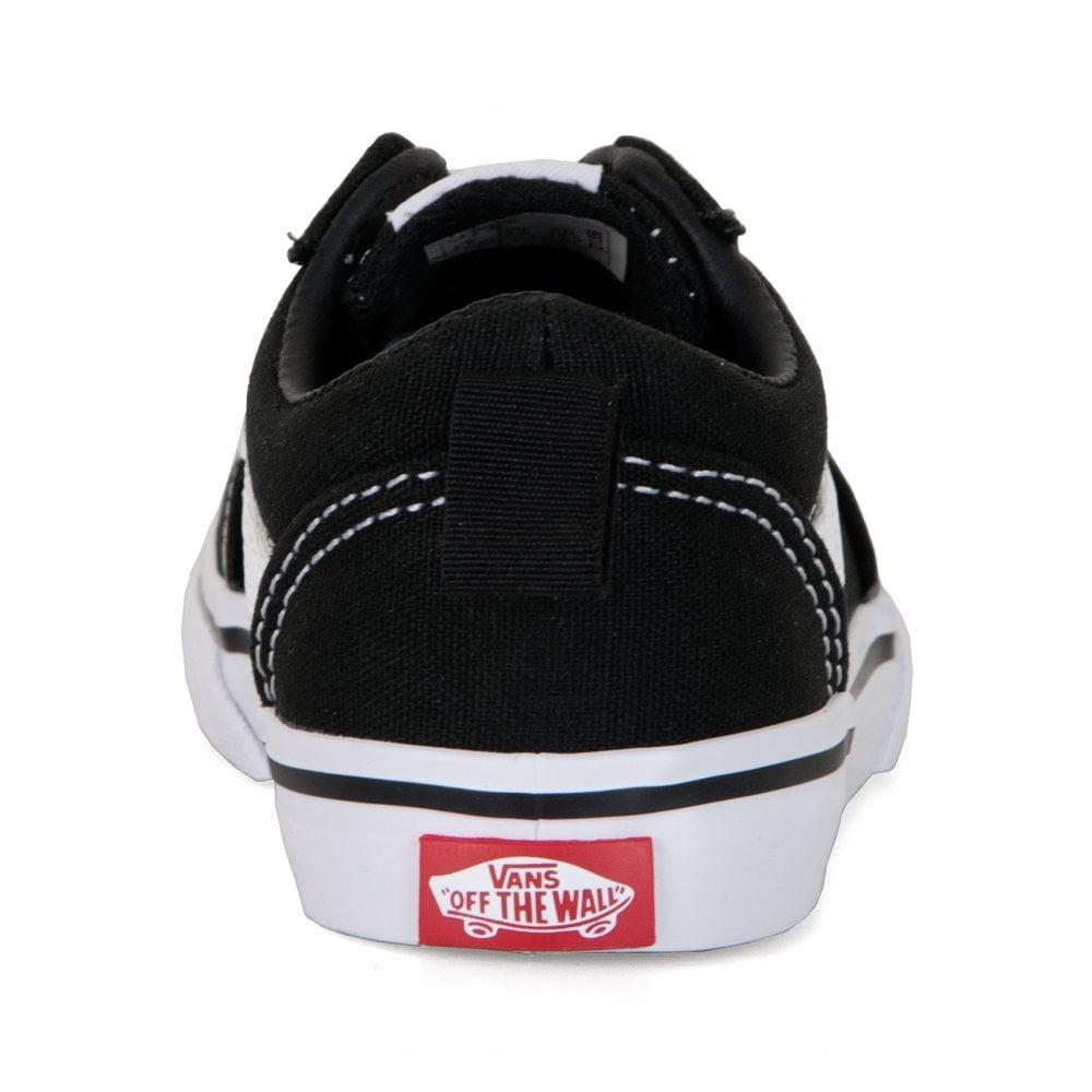abb4e29608e Vans Infants Ward Slip-On Trainers (Black) - Kids from Loofes UK