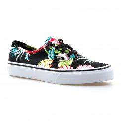 Vans Juniors Authentic Hawaiian Floral Trainers (Multi-Coloured)