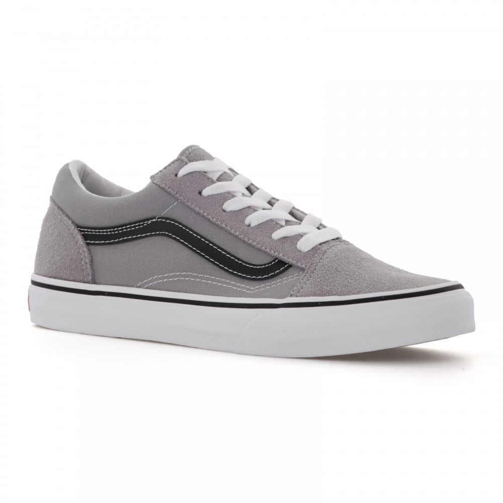 c41c12b62d2e8e Vans Juniors Old Skool Trainers (Grey) - Kids from Loofes UK
