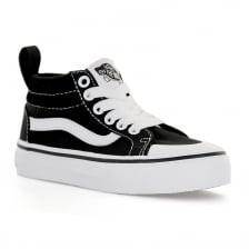 Vans Juniors Racer Mid 117 Trainers (Black)