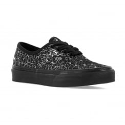 Vans Juniors SK8 Hi Metallic Leopard 316 Trainers (Metallic Leopard/Black)