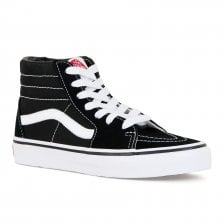 Vans Juniors SK8 HI Trainers (Black)