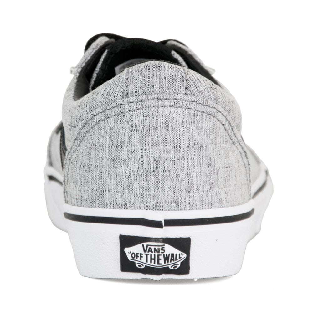a2eb51b741c Vans Juniors Ward Textile Trainers (Grey) - Kids from Loofes UK