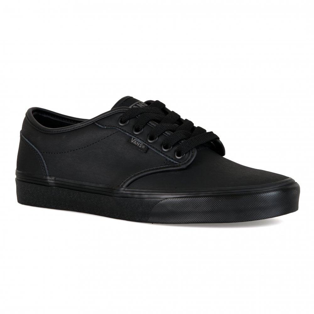 1da51e3c842f Vans Mens Atwood Triple Black Trainers (Black) - Mens from Loofes UK
