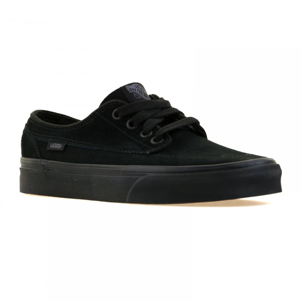 vans all black mens