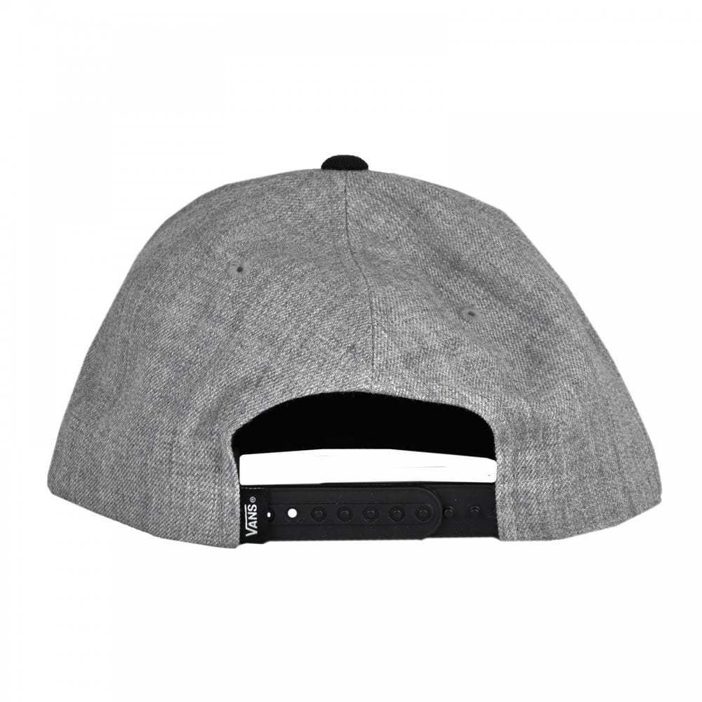 c4ceb3865af Vans Mens Drop V Snapback Cap (Grey) - Mens from Loofes UK