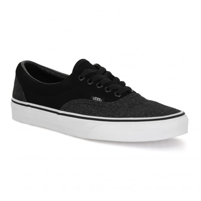 Vans Mens Era Suede And Suiting 317 Trainers (Black)