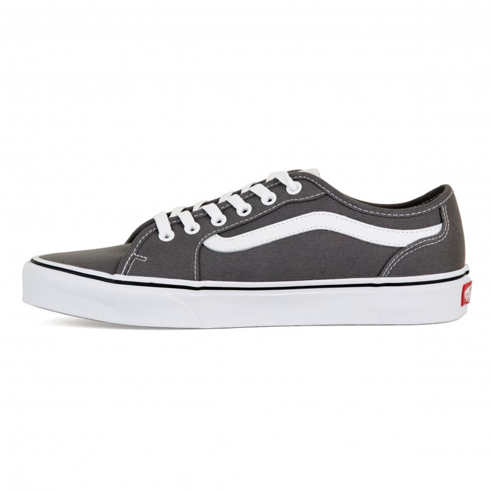 f1d78bd3d50c70 Vans Mens Filmore Decon Trainers (Grey) - Mens from Loofes UK