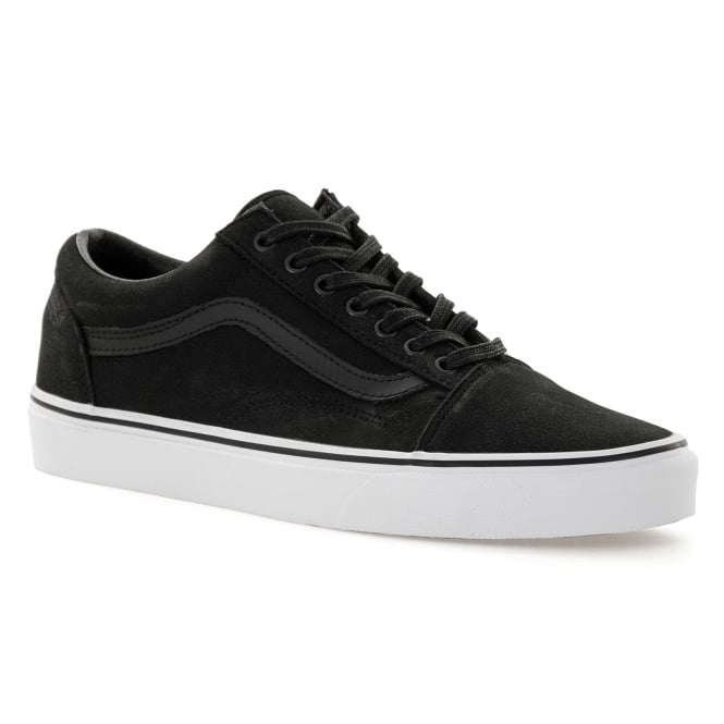 7df2476cca05 vans mens old school premium leather 416 trainers black white from loofes uk