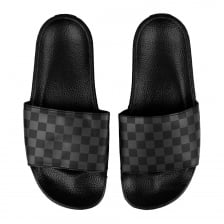 Vans Mens Slide On Flip Flops (Black/Grey)