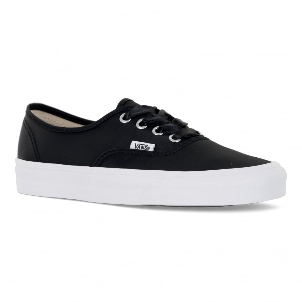 97491a9b07 Vans Womens Authentic Satin Lux Trainers (Black) - Womens from Loofes UK