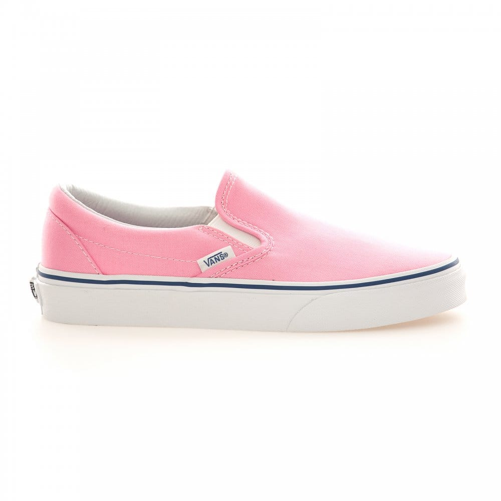 ... Trainers › Vans › Vans Womens Classic Slip-On Trainers (Prism Pink
