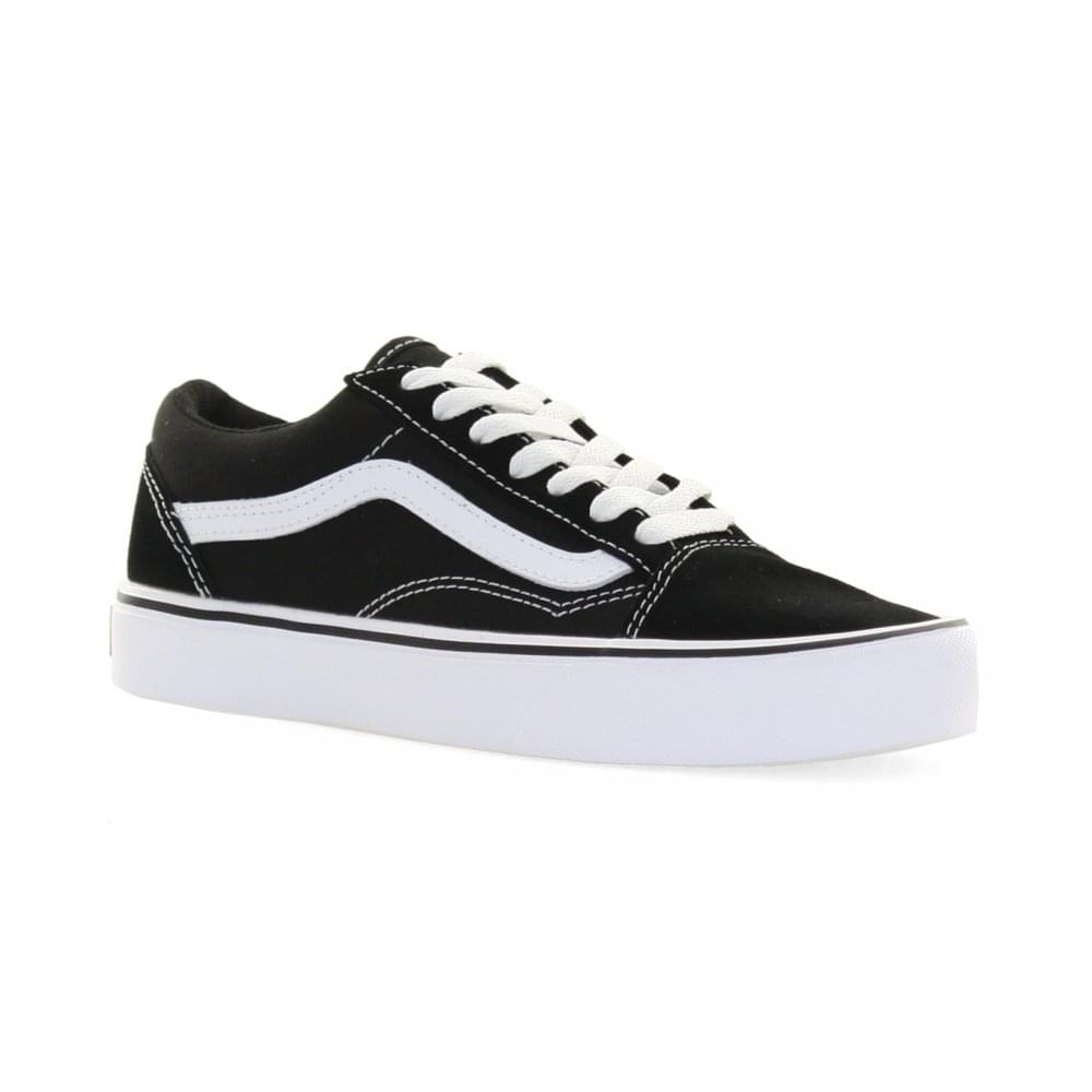 Vans Womens Old Skool Lite Trainers (Black) - Womens from Loofes UK e45ca73deddf