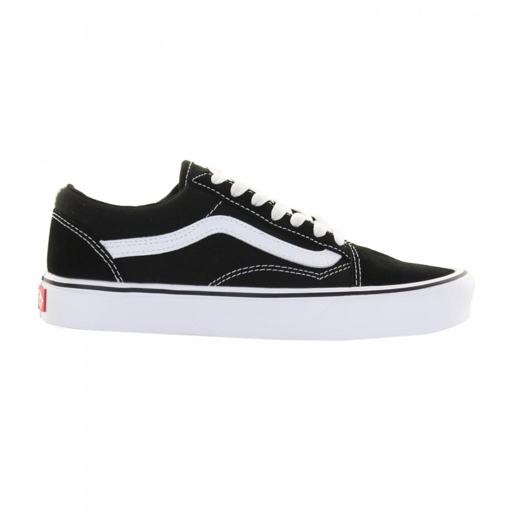38f0f54d52 Vans Womens Old Skool Lite Trainers (Black) - Womens from Loofes UK