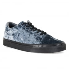 Vans Womens Old Skool Velvet Trainers (Grey)