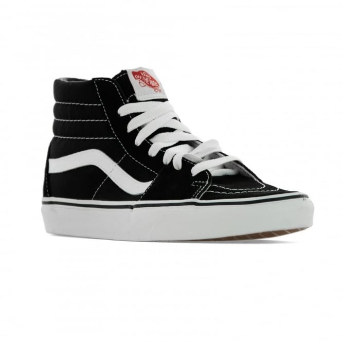 Vans Womens Sk8 Hi Trainers (Black White) - Womens from Loofes UK 63ca83333