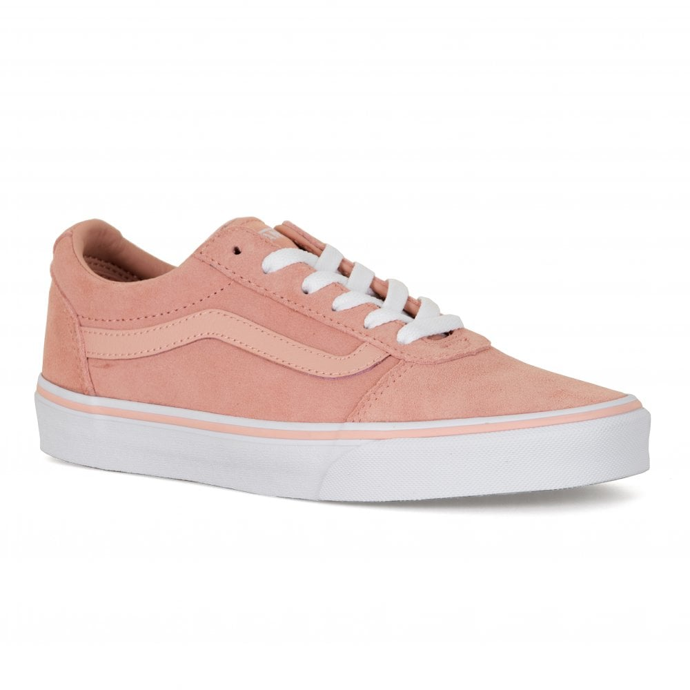 4405bb7fdd98 Vans Womens Suede Ward Trainers (Rose) - Womens from Loofes UK
