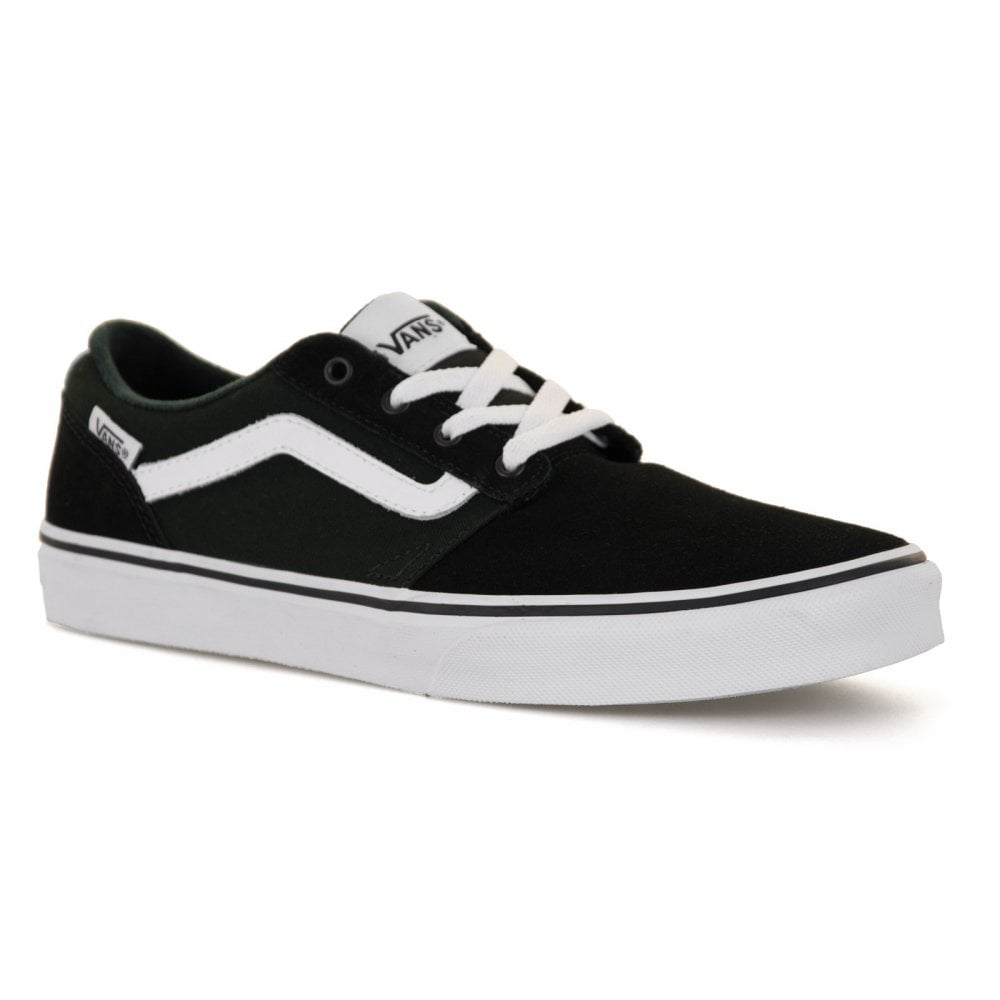 Sales promotion ever popular look for Youths Chapman Stripe Trainers (Black)