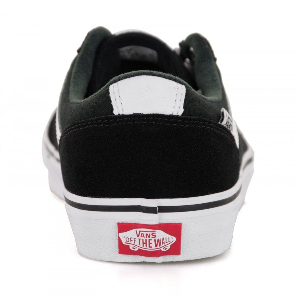 d07ce7e096f Vans Youths Chapman Stripe Trainers (Black) - Kids from Loofes UK