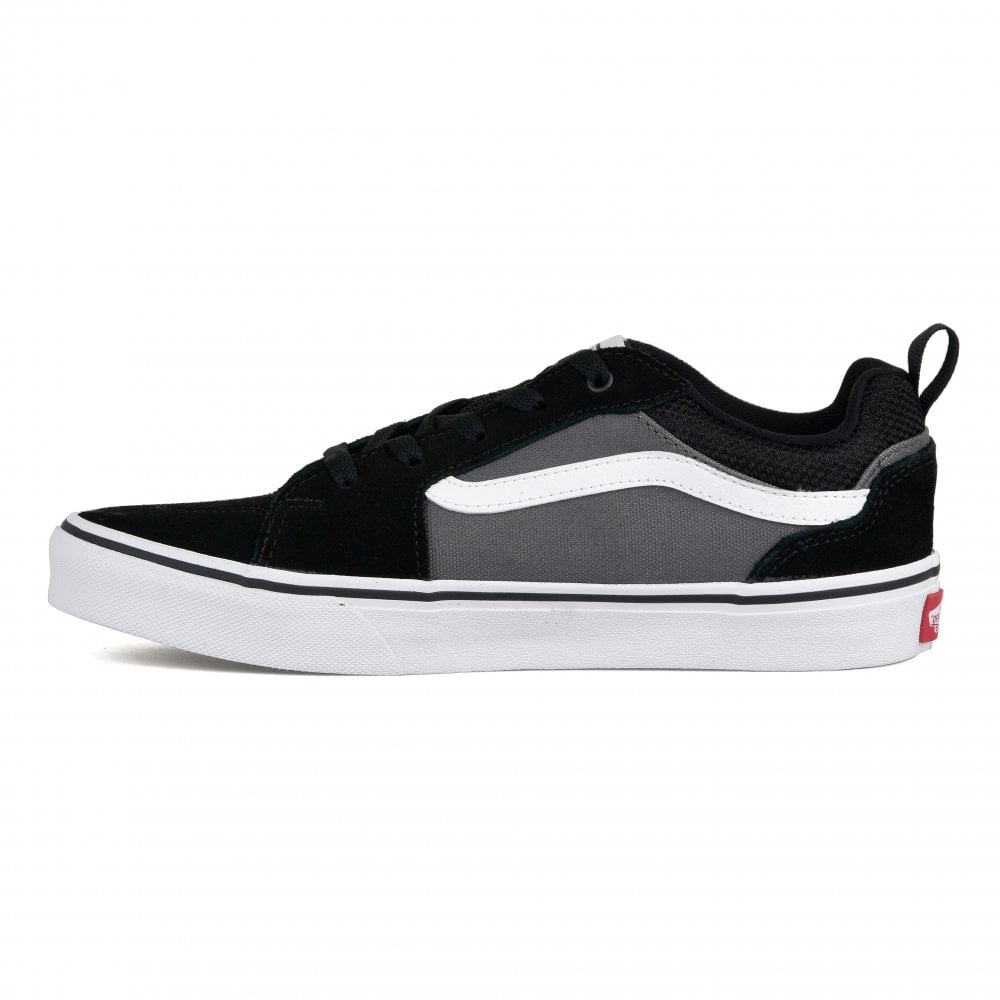 47e2d0e0164 Vans Youths Filmore Trainers (Black) - Kids from Loofes UK