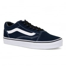 Vans Youths Old Skool 417 Trainers (Navy)