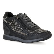 XTI Womens Wedge Heel Trainers (Grey)